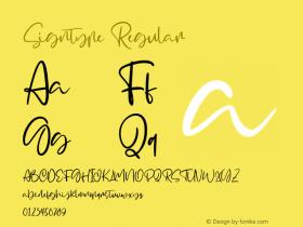 Signtype