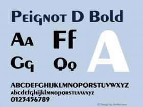 Peignot D