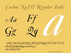Caslon No337