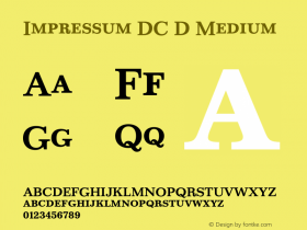 Impressum DC D