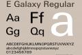 E Galaxy