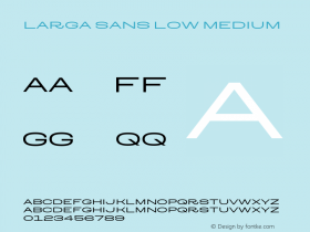 Larga Sans Low