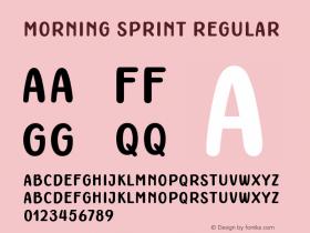 Morning Sprint