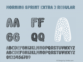 Morning Sprint Extra 2