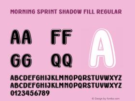 Morning Sprint Shadow Fill