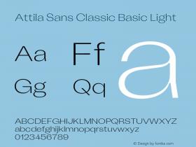 Attila Sans Classic Basic
