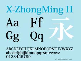 X-ZhongMing