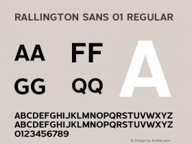 Rallington Sans 01