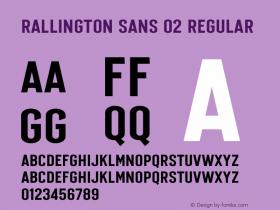 Rallington Sans 02