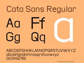 Cata Sans