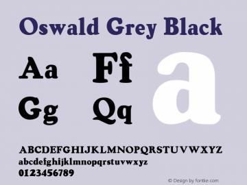 Oswald Grey