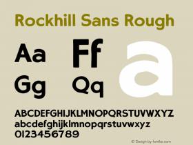Rockhill Sans
