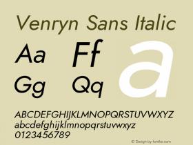 Venryn Sans