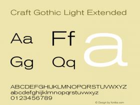 Craft Gothic