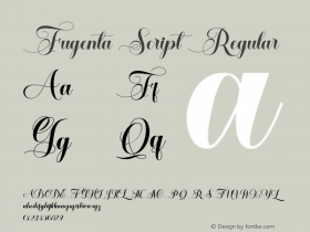 Fugenta Script