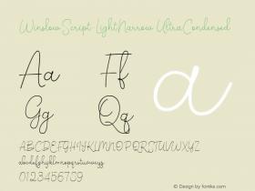 WinslowScript-LightNarrow