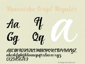 Rumaisha script
