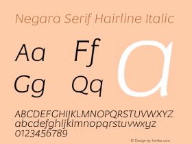 Negara Serif