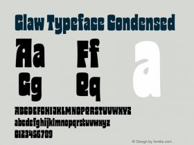 Glaw Typeface
