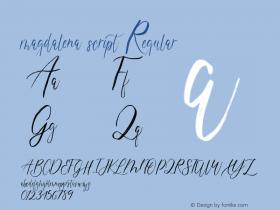 magdalena script