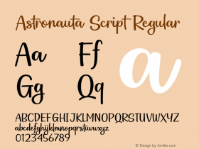 Astronauta Script