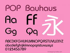 POP Bauhaus