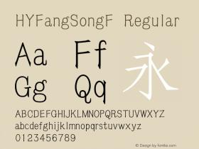 HYFangSongF