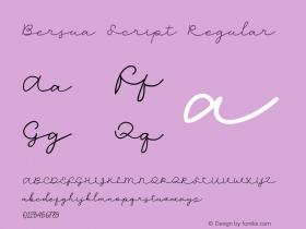 Bersua Script