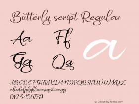 Butterly script