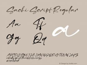 Sachi Script