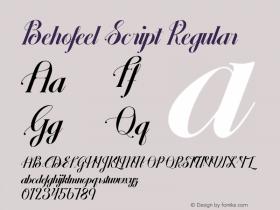 Behofeel Script