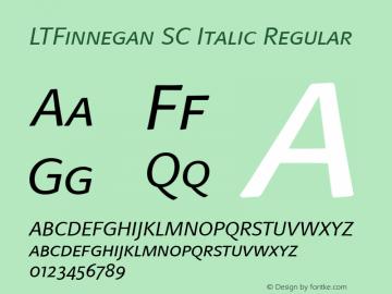 LTFinnegan SC Italic