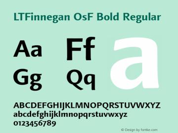 LTFinnegan OsF Bold
