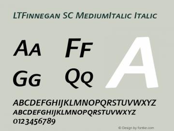 LTFinnegan SC MediumItalic