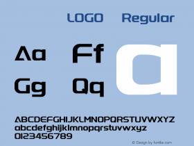 字体圈欣意LOGO体