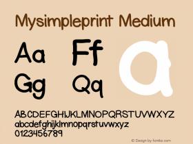 Mysimpleprint
