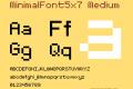 MinimalFont5x7