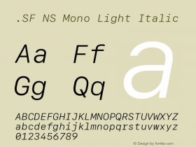 .SF NS Mono
