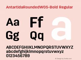 AntartidaRoundedW05-Bold