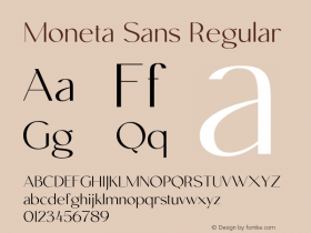 Moneta Sans