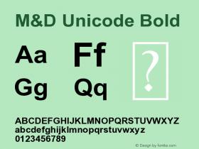 M&D Unicode