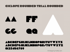 Ciclope Rounded Trial