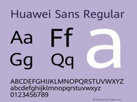 Huawei Sans