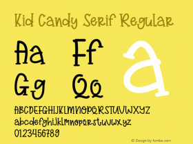 Kid Candy Serif