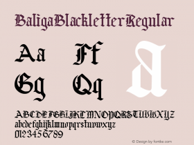 Baliga Blackletter