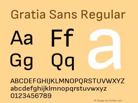 Gratia Sans