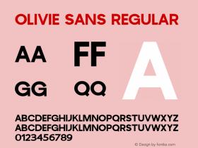 Olivie Sans