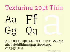Texturina 20pt