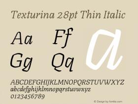 Texturina 28pt