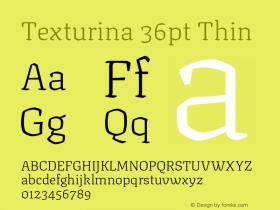Texturina 36pt